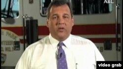 新泽西州州长克里斯蒂在竞选