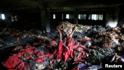 Deadly Fire in a Bangladesh Garment Factory