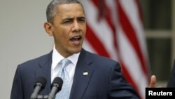 El presidente Obama cree que los más ricos deben aportar más al fisco, pero los republicanos se oponen.