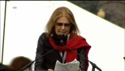Activist Gloria Steinem Tells Women's March Protesters 'Put Our Bodies Where Our Beliefs Are'