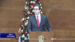 Presidenti maqedonas mban fjalimin e fundvitit në parlament