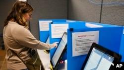 美國新投票機。