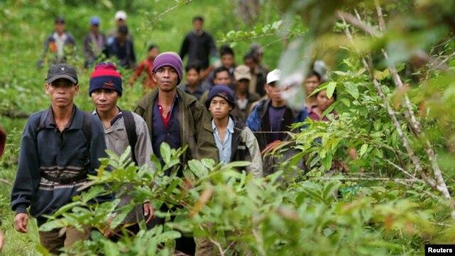 Trong những tháng gần dây, cảnh sát Campuchia đã trục xuất ít nhất 54 người Thượng về lại Việt Nam.