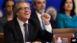 """Luis Almagro aseguró el día de su elección, el pasado 18 de marzo, que impulsará una """"nueva agenda de diálogo"""" entre Venezuela y la OEA."""