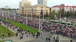 «Хода за звільнення політв'язнів» в Мінську, поліція застосувала водяні гармати. Відео