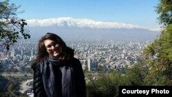 Genevieve Rohrer in Santiago, Chile.