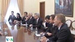 Ekspertet e komisionit te Venecias ne Tirane