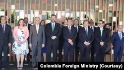 Ministros de Relaciones Exteriores y representantes de los países del Grupo de Lima se reunieron en Brasilia el viernes, 8 de noviembre de 2019, para analizar la crisis en Venezuela.