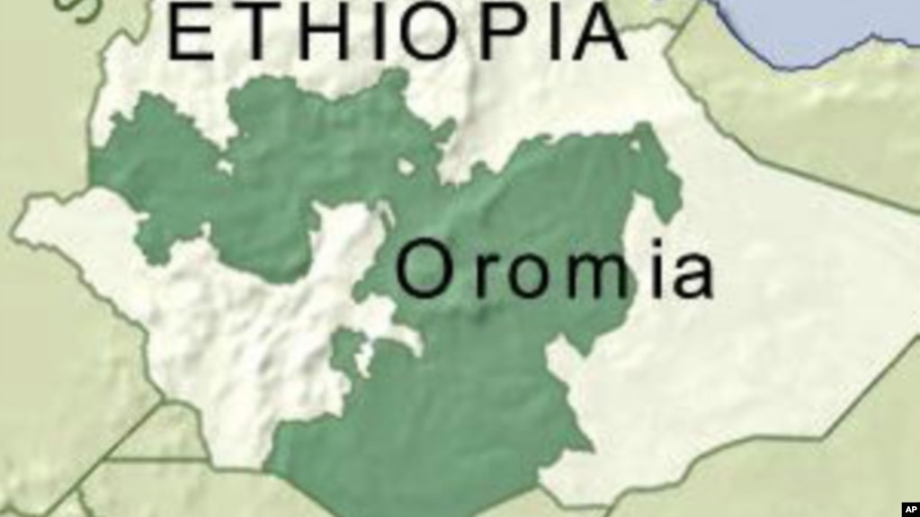 Unprecedented protests in ethiopia against capital expansion plan map of oromia region of ethiopia gumiabroncs Choice Image