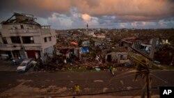 菲律賓颱風災區即景 (11月15日)