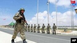 30 Eylül 2017 - Mogadişu, Somali'deki Türk askeri üssünün açılış töreni