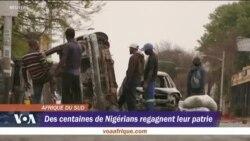 Rapatriement de ressortissants nigérians d'Afrique du Sud suite aux violences