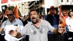 Протесты в Афинах, Греция