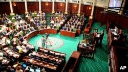 Le parlement tunisien à Tunis 26 août 2016.