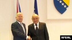 William Hague i Vjekoslav Bevanda, Sarajevo, 24. oktobar 2012.