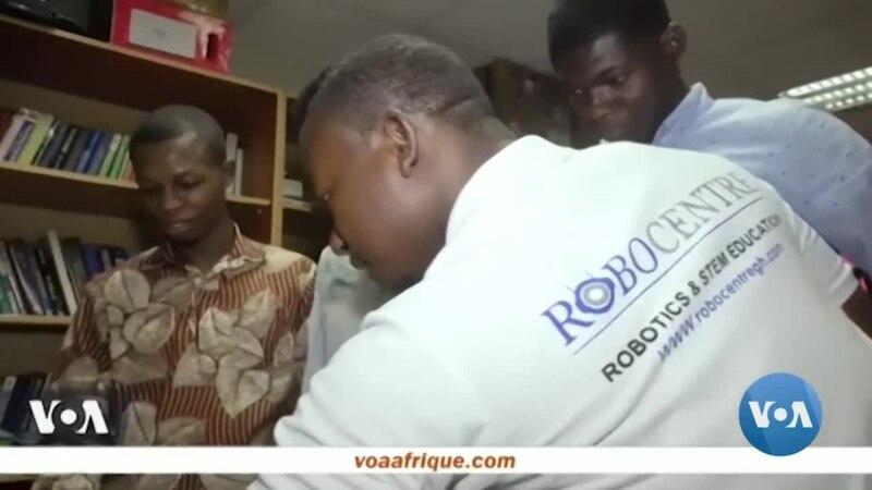 Ouverture aux jeunes ghanéens au monde de la robotique