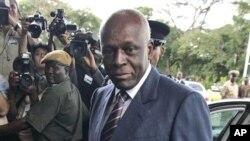 Presidente angolano, José Eduardo dos Santos