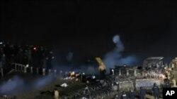 Policija i demonstranti sukobili su se blizu mesta planiranog prolaska gasovoda