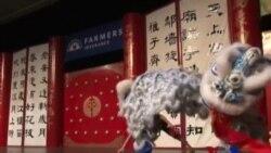 美国华裔移民喜迎春节