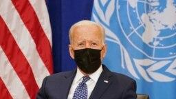 На фото: Президент США Джо Байден
