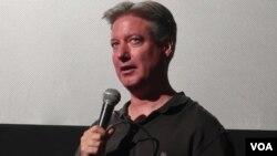 Джеймс Лонгли во время обсуждения в Film Forum. Photo: Oleg Sulkin