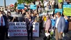 Kadıköy'de İkizdere Protestosu
