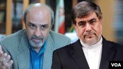 علی جنتی و محمود گودرزی