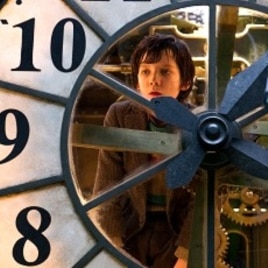 "Asa Butterfield plays Hugo Cabret in ""Hugo."""