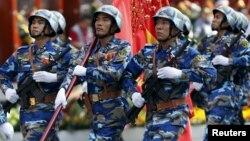 Cuộc phô trương sức mạnh hải quân diễn ra trong bối cảnh Trung Quốc đang mạnh mẽ khẳng định chủ quyền trên biển Đông.