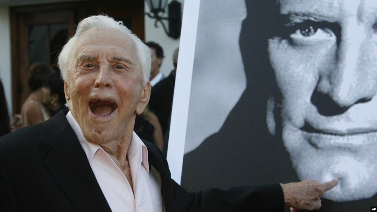 Resided in Palm Springs CA for more than 40 years In October 2005 the city honored him by naming a lushly landscaped drive Kirk Douglas Way