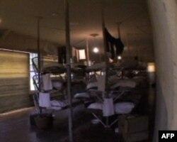 羁留所内中国男子的房间