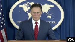 ناتان سیلز هماهنگ کننده امور ضد تروریسم در وزارت خارجه آمریکا