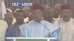 VOA60 AFRICA : NIGER An Sake Zaben Shugaba Mohammadou Issoufou a Wa'adi Na Biyu Kan Mulki, Maris 23, 2016