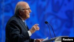 Cựu chủ tịch FIFA Sepp Blatter.