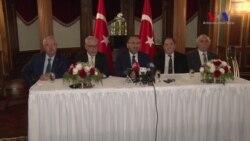 Bozdağ'la ABD'ye Gelen Türk Parlamenter Heyeti Umutlu