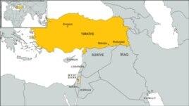 turkey map merdin