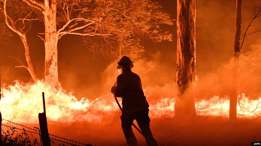 Cháy rừng ở Úc từ tháng 10 năm 2019 (ảnh tư liệu)