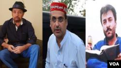 سراج رئيساني، هارون بلور، اکرام الله خان ګنډاپور