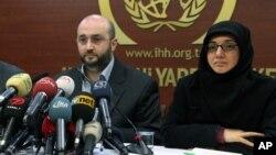 Salı günü altı ilde yapılan operasyonların ardından basına açıklama yapan İHH Genel Sekreteri Yaşar Kutluay