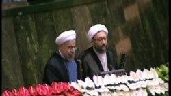 伊朗新總統宣誓就職呼籲與西方對話