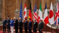G7 ရာသီဥတု ေၾကညာခ်က္ ကန္မပါ၀င္