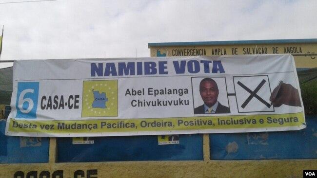 Campanha eleitoral CASA-CE Namibe