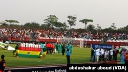 Ghana na Algeria zinashuka uwanjani Mongomo Ijuma 23, 2015