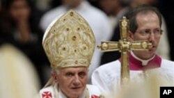 مذہبی آزادیوں کا احترام کیا جائے: پوپ بینڈکٹ