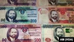 Metical, moeda de Moçambique