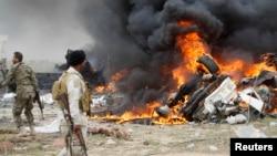지난 3월 이라크 티크리트에서 이슬람 수니파 무장단체 ISIL의 차량 자살 폭탄 테러가 발생했다. (자료사진)