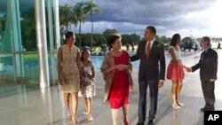 ملاقات اوباما با رییس جمهور برازیل