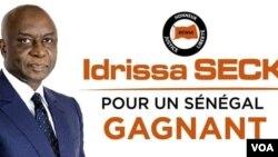 L'affiche électorale d'Idrissa Seck.