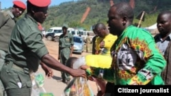Food Aid In Manicaland, Zimbabwe