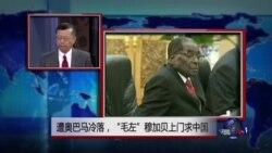 """媒体观察:遭奥巴马冷落,""""毛左""""穆加贝上门求中国"""